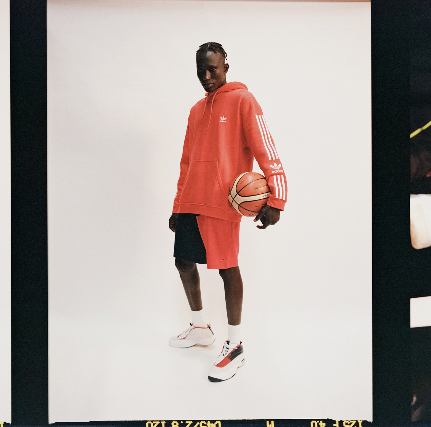 Gabriel Khamis wears Adidas for The Iconic sport campaign