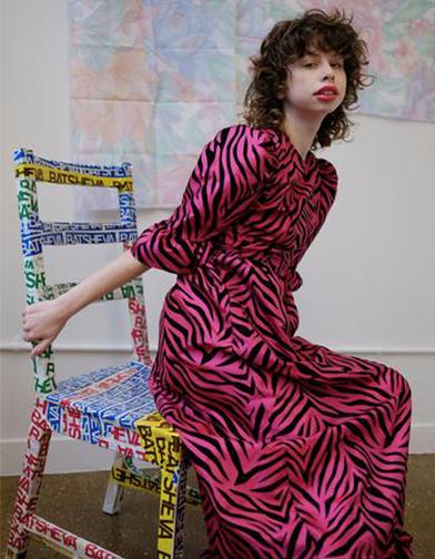 NEUE model Shiloh Savage for Batsheva NYC