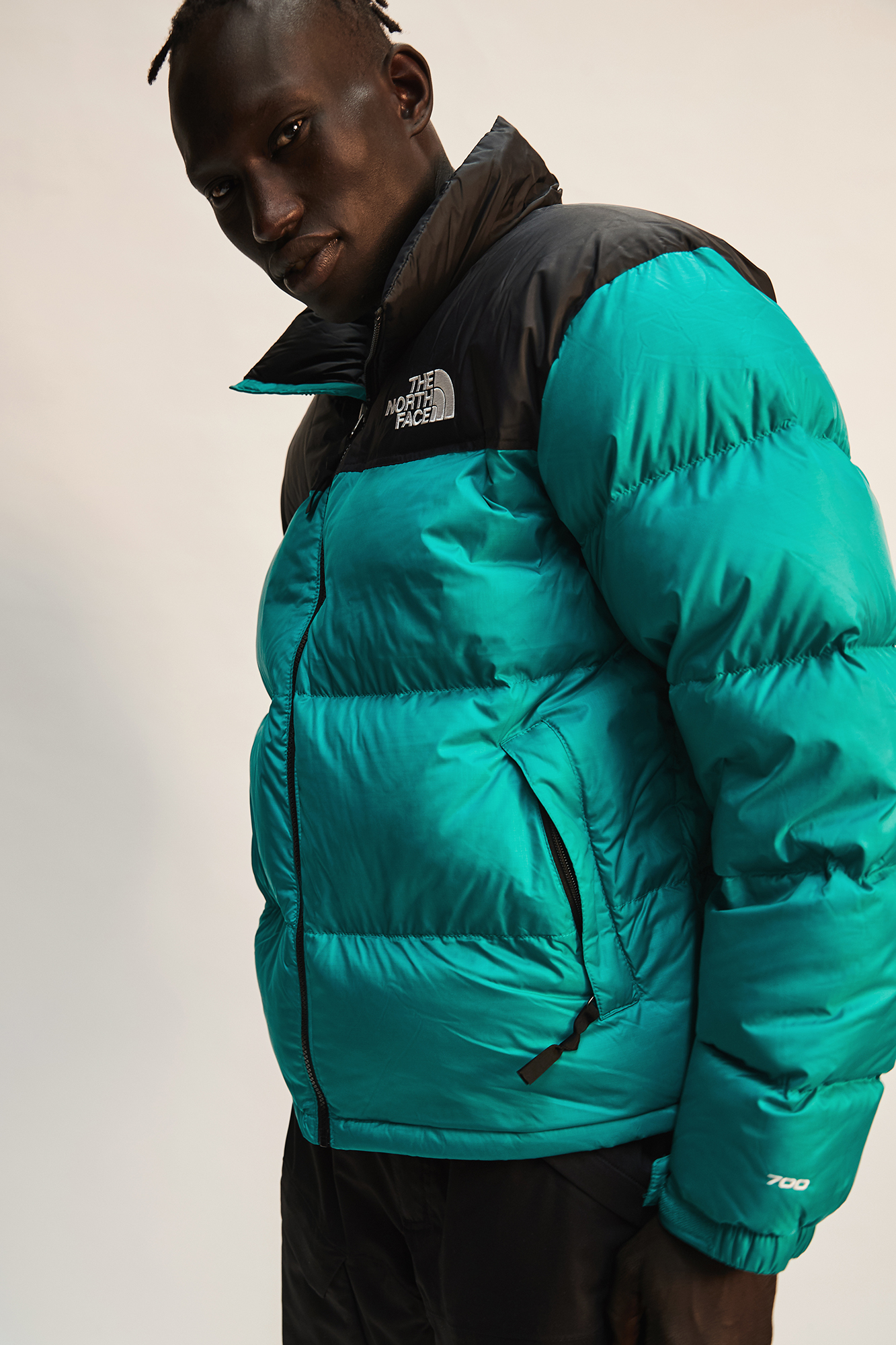 Gabriel Khamis wears The North Face for The Iconic sport campaign