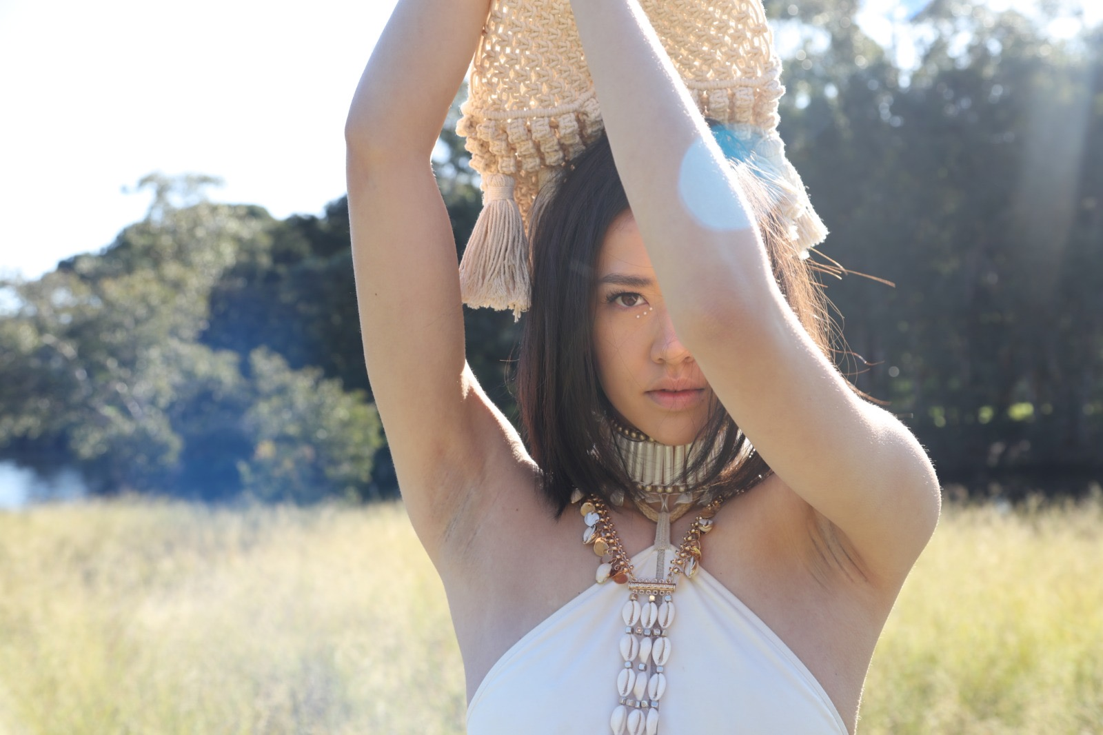 NEUE model Pearl Ditthavong for Ixiah x Freepeople campaign