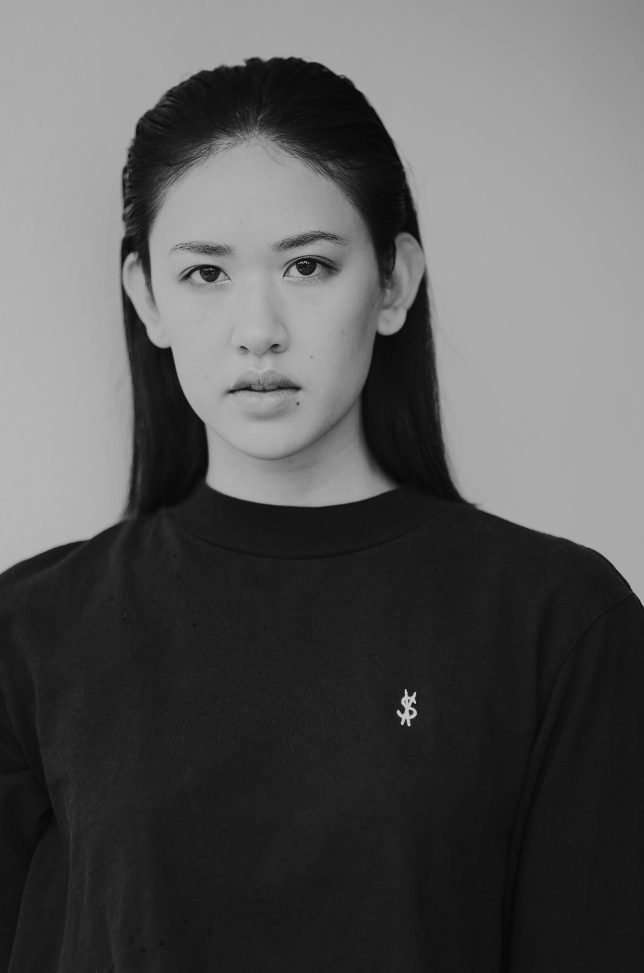 NEUE model Pearl Ditthavong wears Ksubi