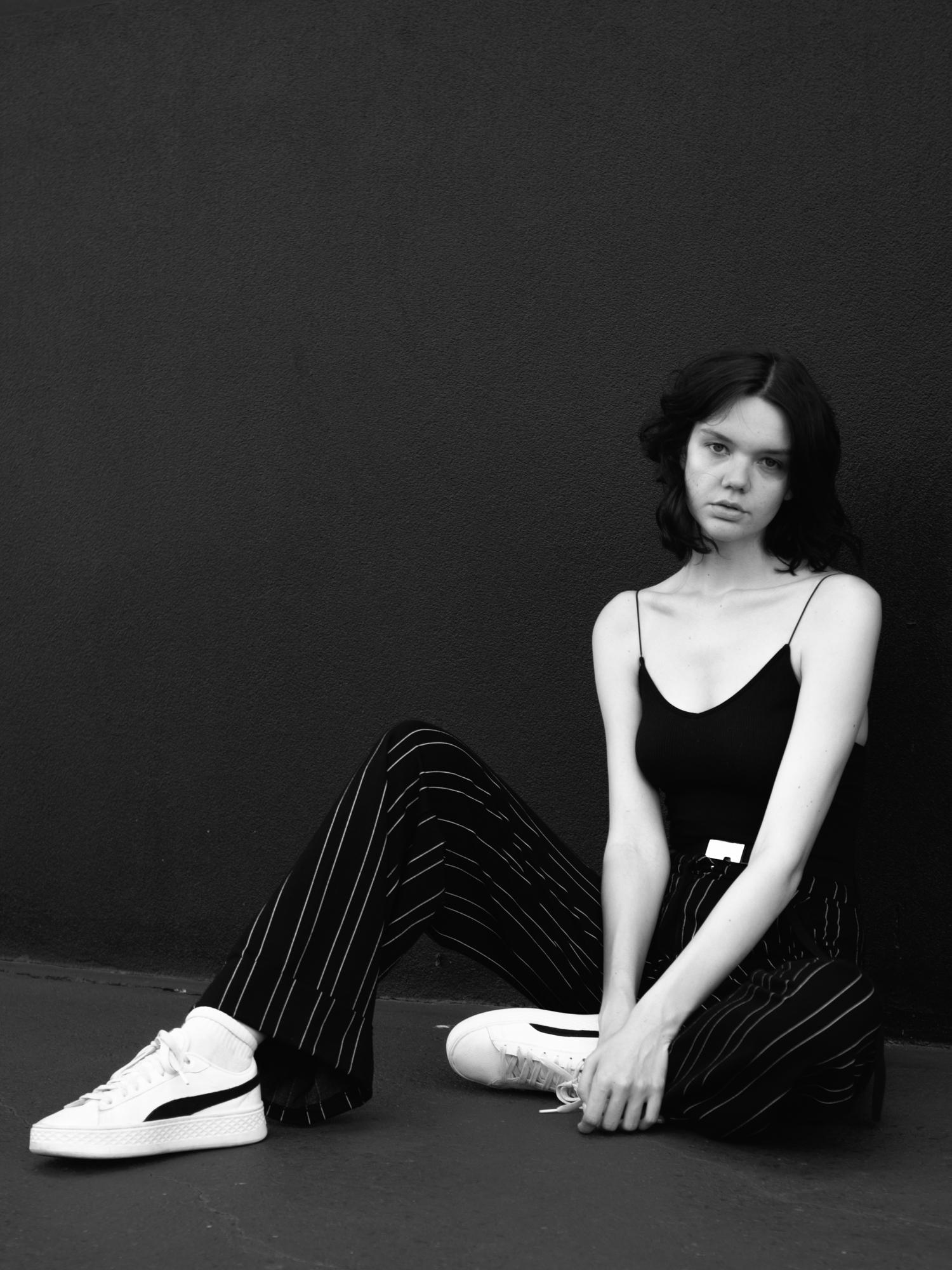 NEUE model Kaela Bayliss shot by Aaron VIII