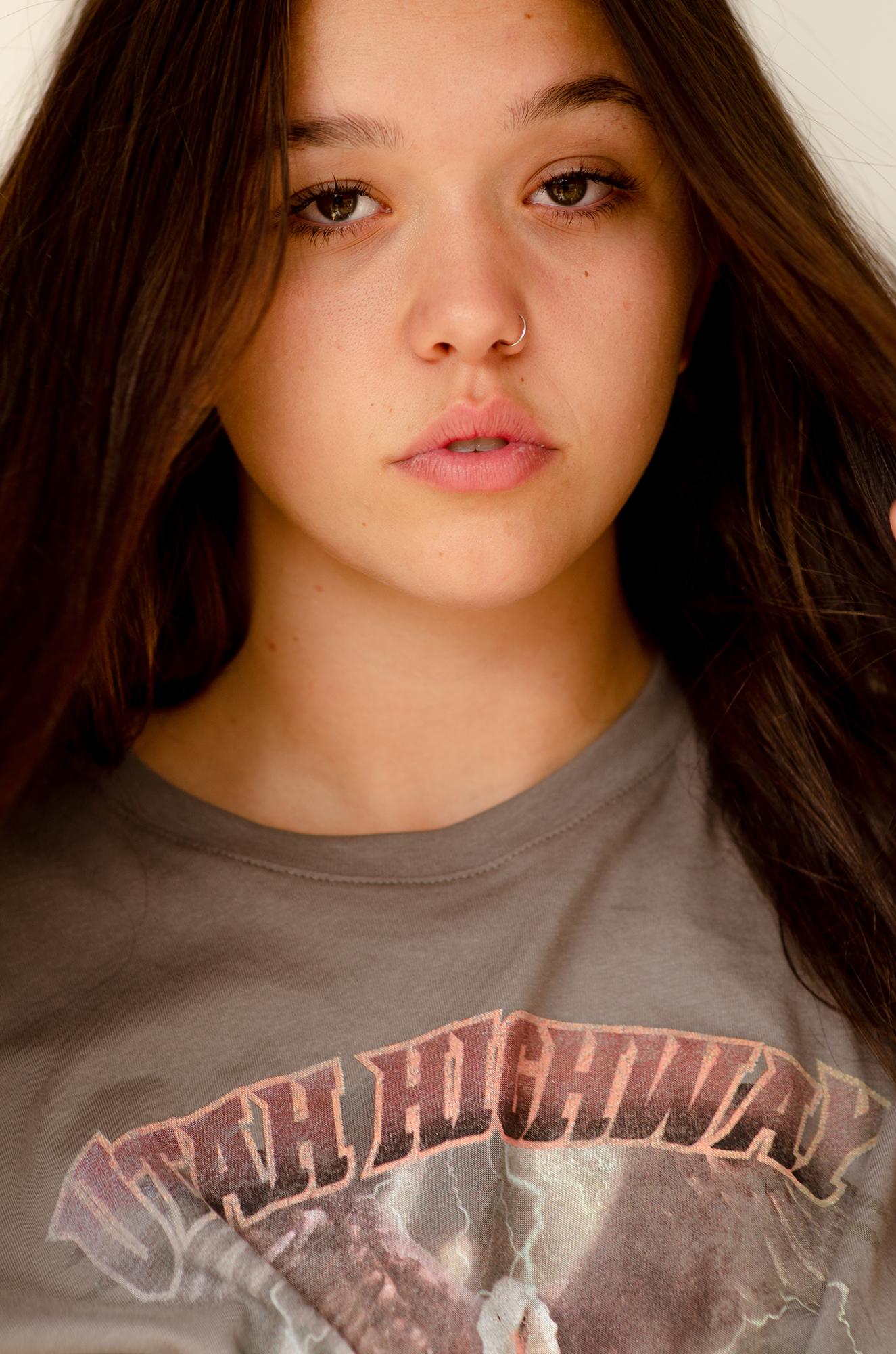 NEUE model Aliyah Sayed-Rich shot by Aaron VIII