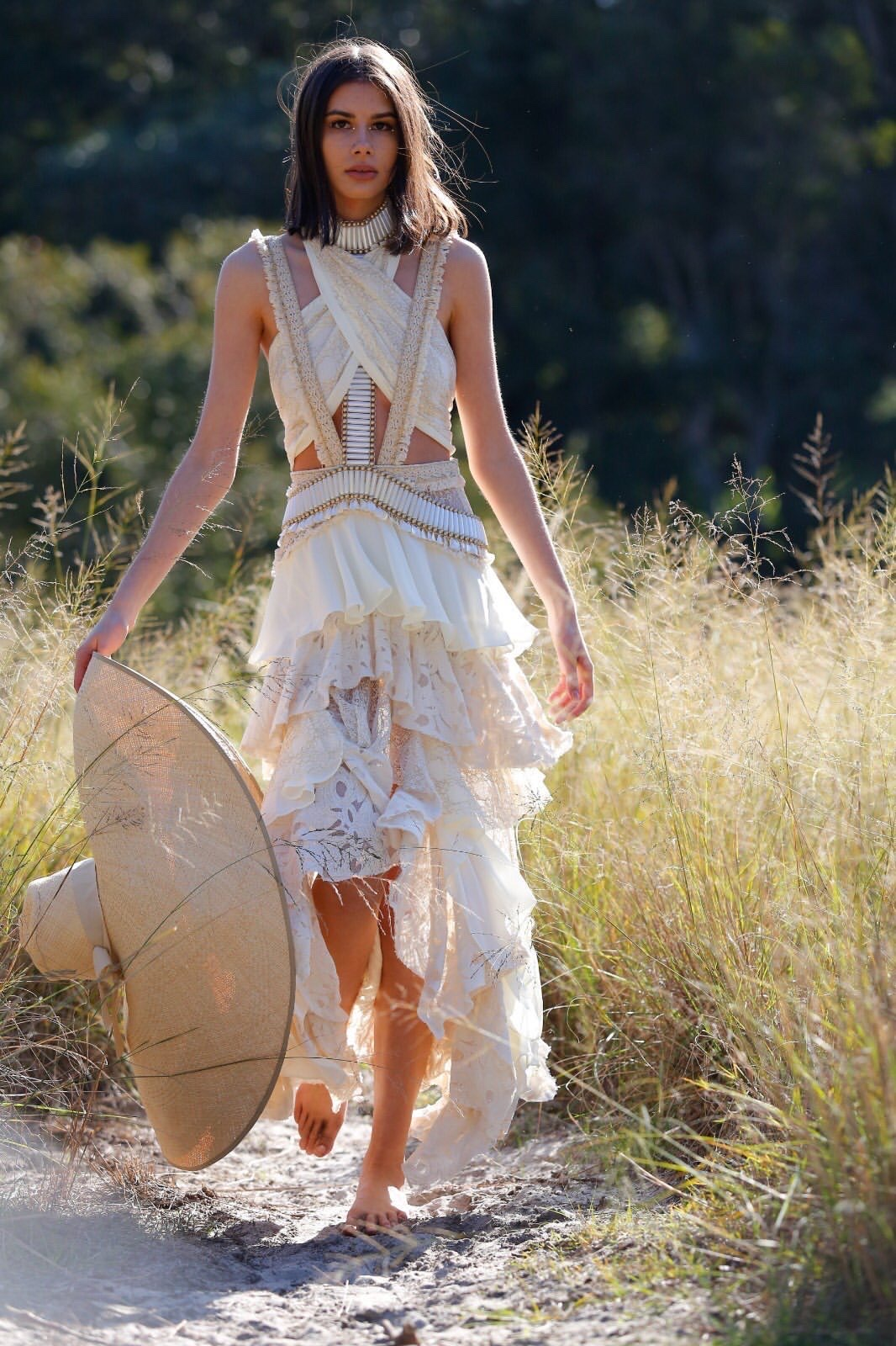 NEUE model Monique Lane for Ixiah x Freepeople campaign